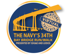 The Navy's 34th Bay Bridge Run/Walk (VIRTUAL)