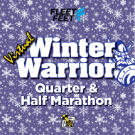 Winter Warrior VIRTUAL Half Marathon & Quarter Marathon