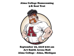 Alma College Homecoming 5-K Scot Trot