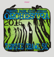 Forest Park HS Orchestra Zombie Crawl 5K