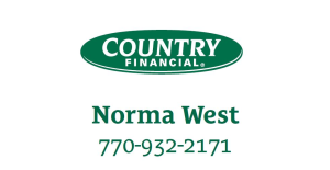 Norma West with Country Financial