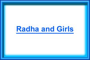 Radha and Girls