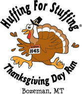 Huffing For Stuffing Logo