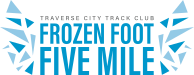 Frozen Foot Race Logo