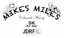 MikesMiles Cedarvale Winery 5K for the JDRF