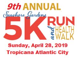 Seashore Gardens 5K Run & Health Walk