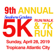 Seashore Gardens 5K Run/Walk & 7K Run