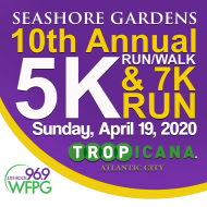 Seashore Gardens 5K Run/Walk & 7K Run