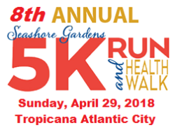Seashore Gardens 5K Run & Health Walk