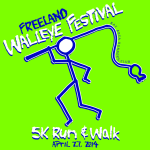 Freeland Walleye Festival 5K Run & Walk