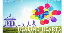 Healing Hearts: 5K Walk/Run for Suicide Prevention