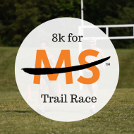 8k For MS Trail Race