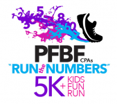 "9th Annual PFBF CPAs ""Run the Numbers"" 5K & KIDS FUN RUN"