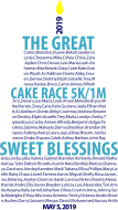 The Great Cake Race 5K/1M, May 5th, 4pm, Keeneland's Keene Barn.