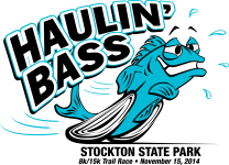 2014 HAULIN' BASS 8K & 15K TRAIL RUN