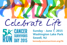 Kennedy Hope & Healing 5K  and 5th Annual Kennedy Cancer Survivors Day Celebration