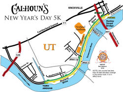 Calhoun's New Year's Day 5K Run/Walk