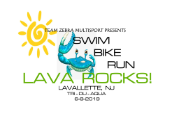Lava Rocks! Sprint Triathlon - AquaBike - SCHEDULED FOR JUNE 12, 2021