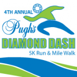 4TH ANNUAL PUGH'S DIAMOND DASH - 5K RUN - MILE WALK
