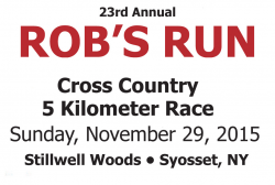 Rob's Run Cross Country 5K Race