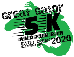 Great Gator 5k and Kid's Fun Run Logo