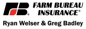 Title Sponsor: Farm Bureau Insurance (The Greg Badley and Ryan Welser Agency)