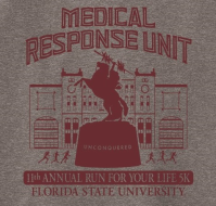 FSU Medical Response Unit 11th Annual Run for Your Life 5K