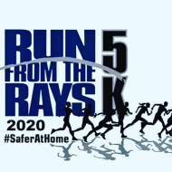 """2020 """"Virtual"""" Run From The Rays 5K  and 1 Mile Run/Walk,  Presented by Vertical Bridge"""
