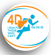 4D Super Hero Dash 10K/5K/1-mile walk-virtual participant