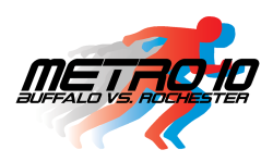 Metro 10 Buffalo vs. Rochester Running Event