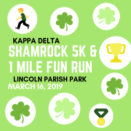 Kappa Delta Shamrock 5k and 1 Mile Fun Run