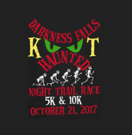 Kanawha Trace Darkness Falls 5 K & 10K Haunted Night Trail Run