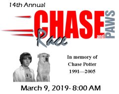 Chase Race and Paws