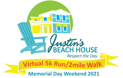 VIRTUAL Justin's Beach House 5K Run & 2 Mile Walk