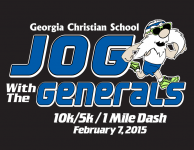 Jog With the Generals 10K, 5K, and 1 Mile Fun Run