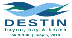 Destin's 8th Annual Bayou, Bay & Beach 5K & 10K