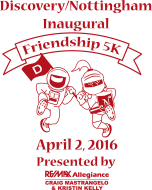 The Discovery/Nottingham Elementary Schools Friendship 5k Presented by Craig Mastrangelo & Kristin Kelly, RE/MAX Allegiance