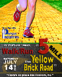 5 Mile the Yellow Brick Road Walk/Run