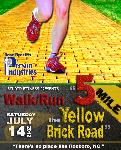 5 Mile the Yellow Brick Road Walk/Run