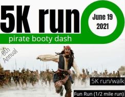 Pirate Booty Dash 5K Run/Walk/FunRun