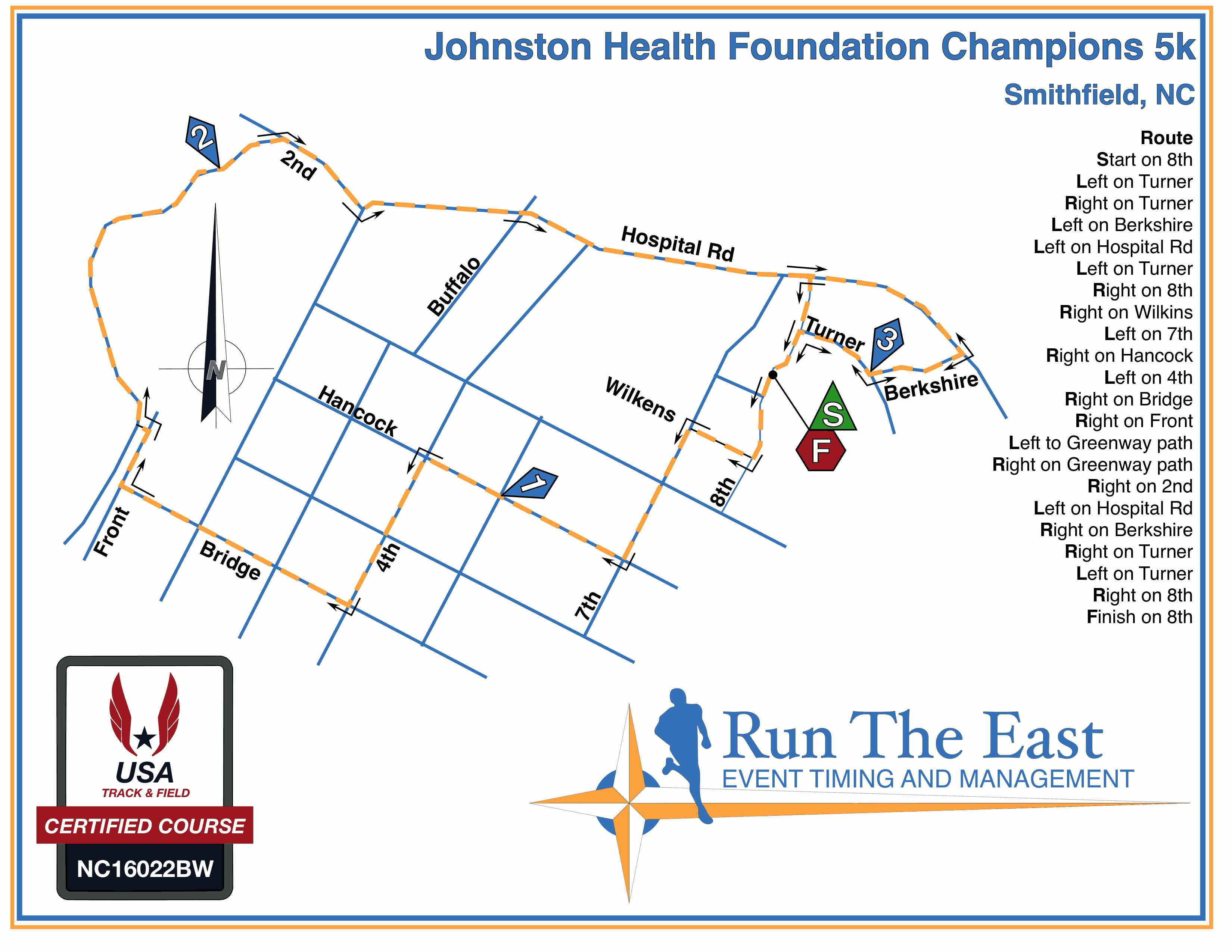 Johnston Health Champions 5k 10k
