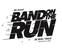 Band on the Run VIRTUAL 5k and 1 Mile Fun Run (5th Grade and Under)