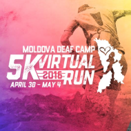 Moldova Deaf Camp Virtual Run 5K