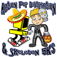 6th Annual Action For Distraction 5K & Inaugural Skeleton Run