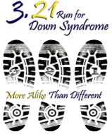 3.21 Run for Down Syndrome