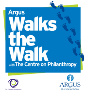 Argus Walks the Walk with The Centre on Philanthropy 5K
