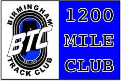 BTC 1200 Mile Club Challenge