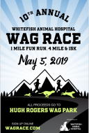 2019 Whitefish Animal Hospital WAG Race