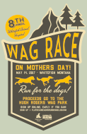 2017 Whitefish Animal Hospital WAG Race