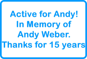Active for Andy!